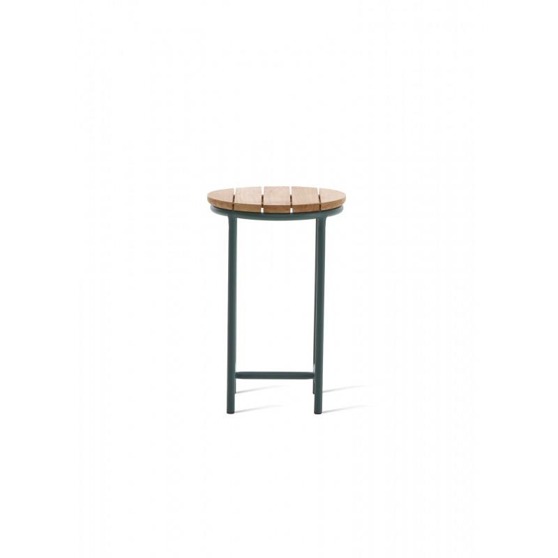 Vincent Sheppard Wicked Side Table Dark Green -Natural