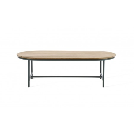 Vincent Sheppard Wicked Coffee Table Dark Green -Natural