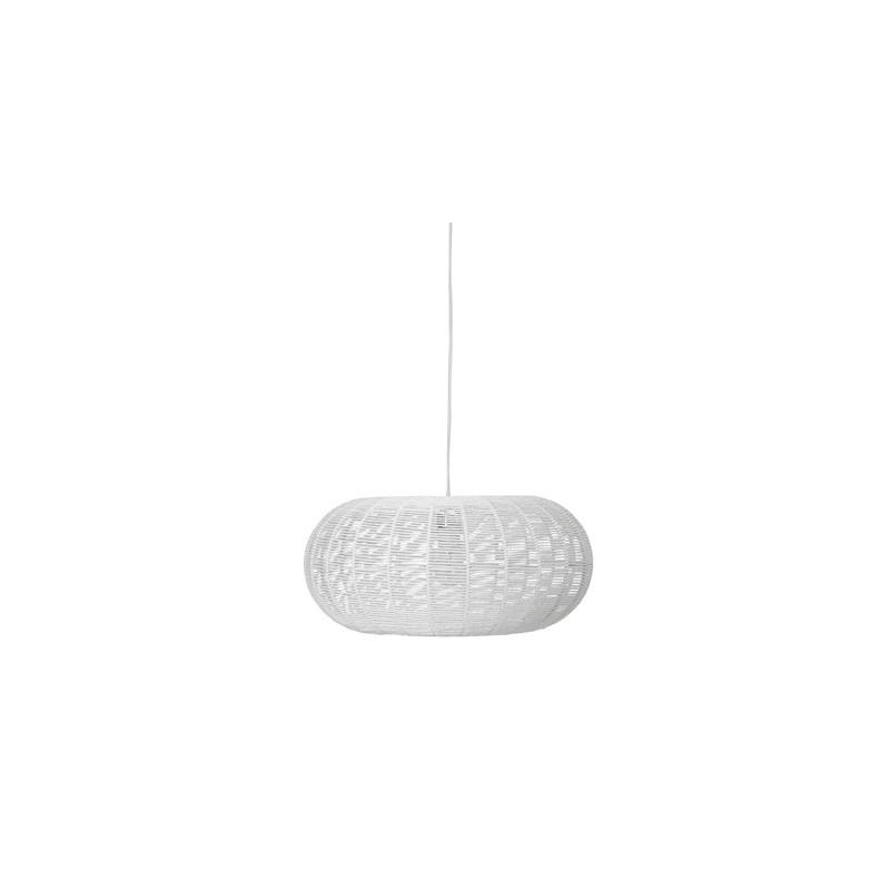 Bloomingville White Paper Pendant Lamp