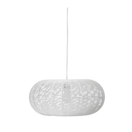 Bloomingville White Paper Pendant Lamp