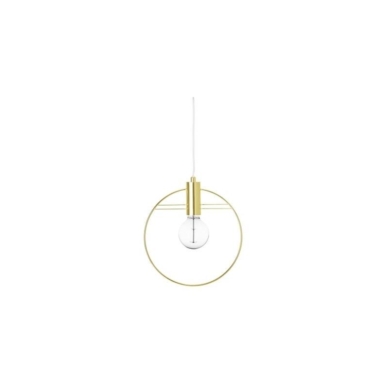 Bloomingville Gold Metal Pendant Lamp