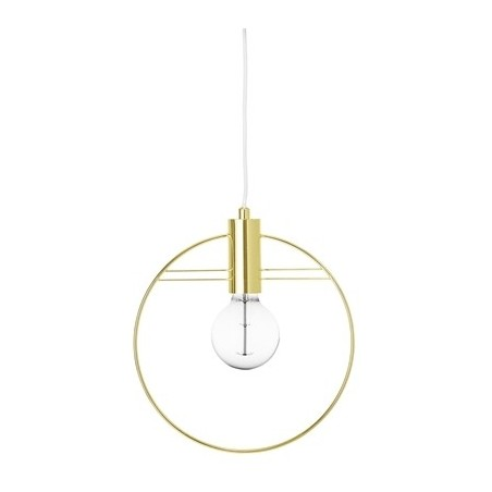 Bloomingville Gold Metal Pendant Lamp