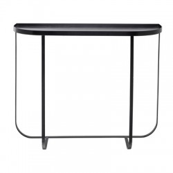 Bloomingville Black Metal Harper Console Table