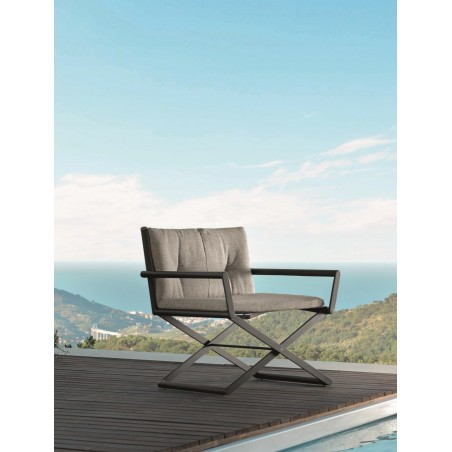 Talenti Domino Director Outdoor Lounge Chair