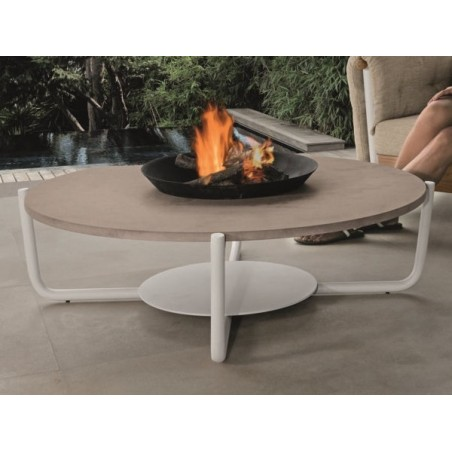 Talenti Domino Outdoor Round Coffee Table