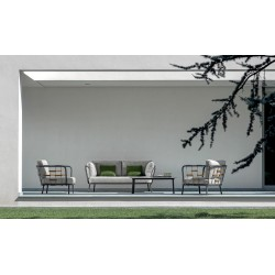 Talenti Soho Outdoor Fabric Armchair