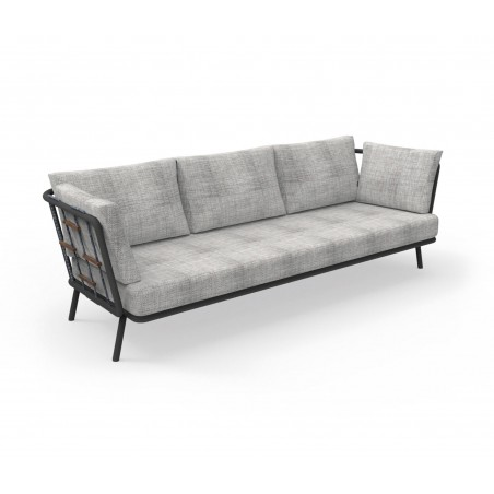 Talenti Soho 3 Seater Fabric Outdoor Sofa