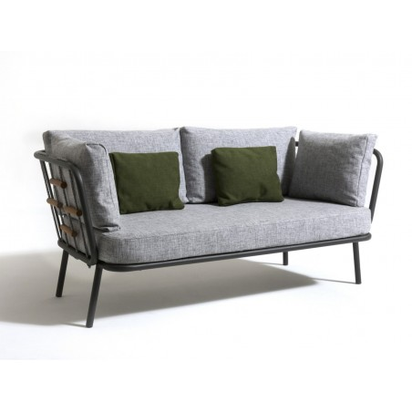Talenti Soho 2 Seater Fabric Outdoor Sofa