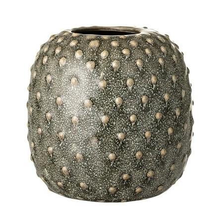 Bloomingville Stoneware Green Vase