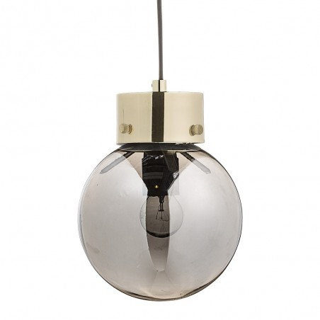 Bloomingville Silver Glass Pendant Lamp