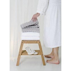 Wireworks Natural Oak Slatted Stool