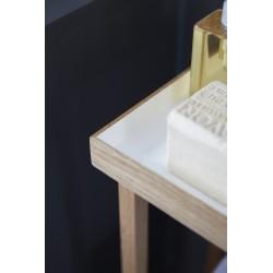 Wireworks Hello Storage Table White Oak