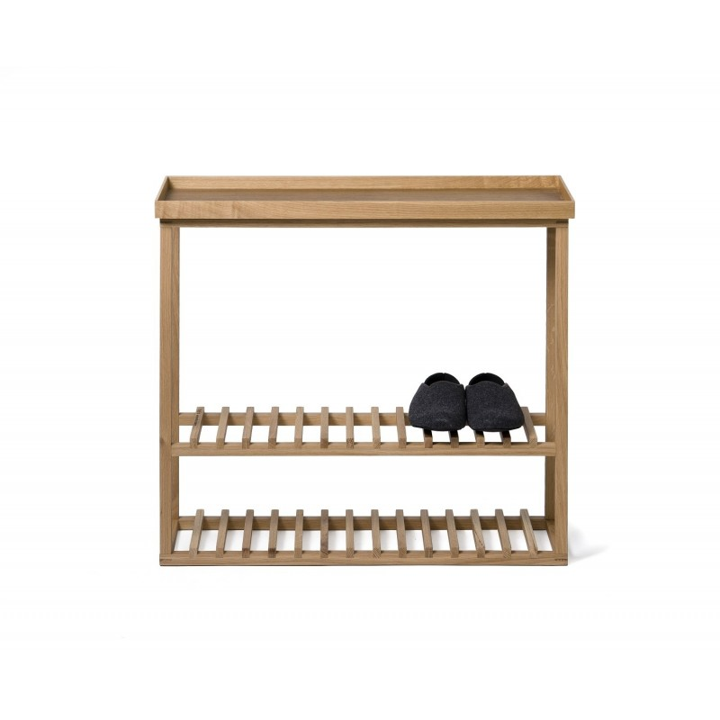 Wireworks Hello Storage Table Natural Oak