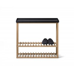 Wireworks Hello Storage Table Black Oak