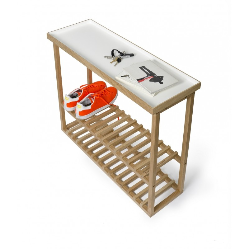 Wireworks Hello Storage Table White Oak