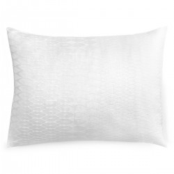 Margo Selby Sussex White Cotton Pillowcase
