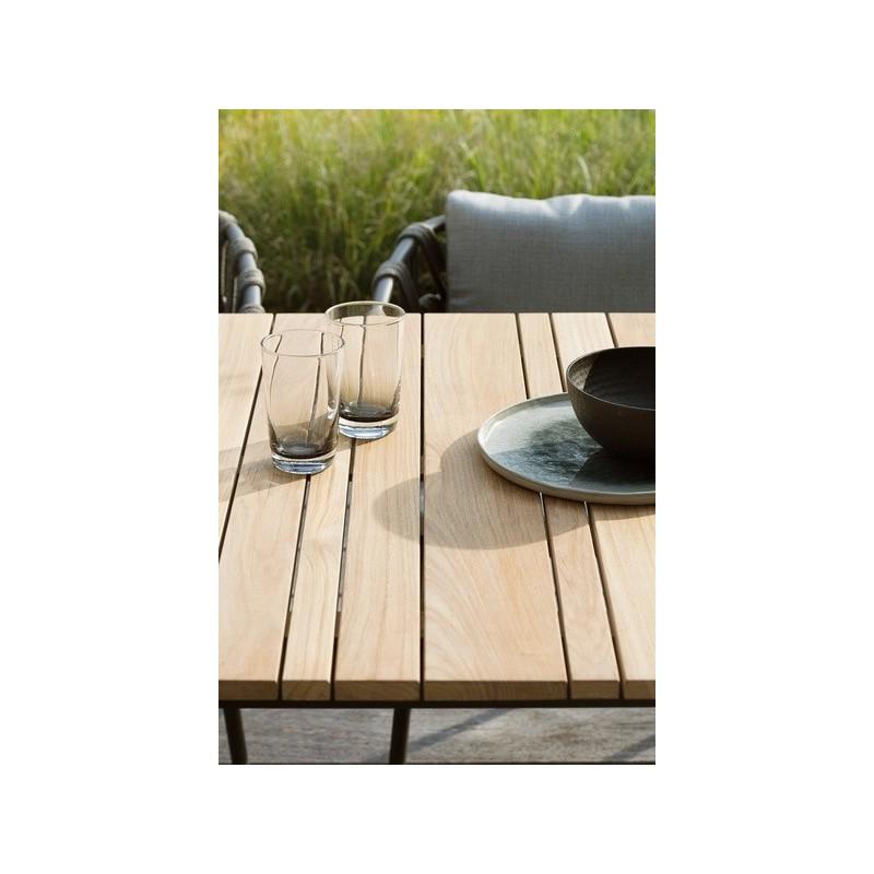 Vincent Sheppard Leo Dining Table 90 CM Teak or Ceramic Top