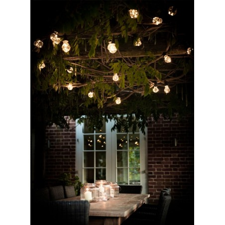 Garden Trading Festoon Lights | 40 Bulbs