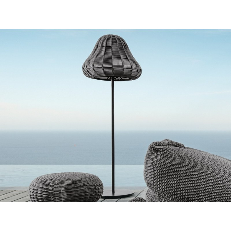 Talenti Jackie Outdoor Rope Tall Floor Lamp