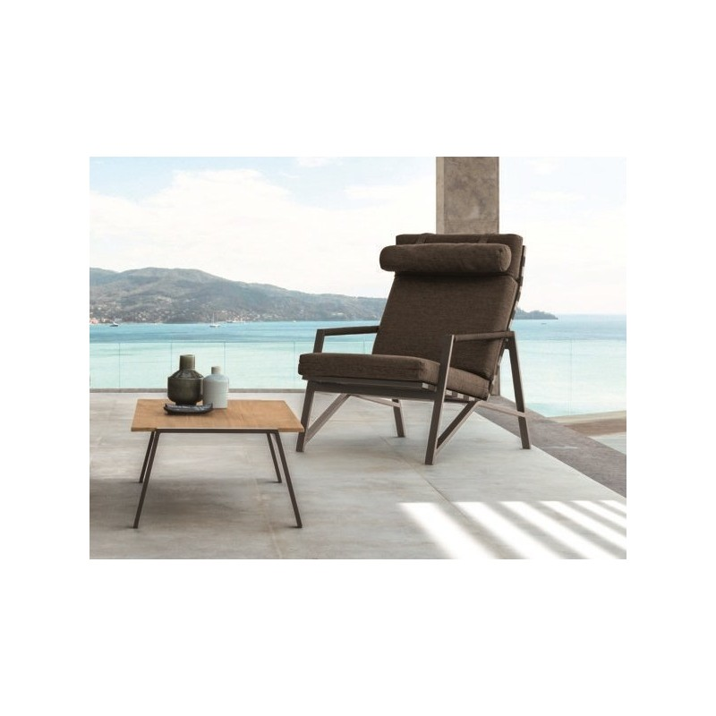 Talenti Cottage Outdoor Fabric Lounge Armchair