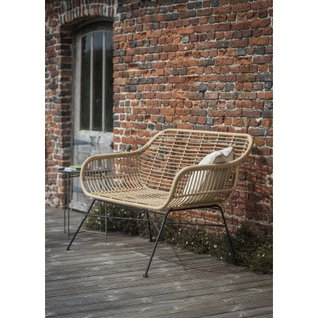 Garden Trading Hampstead Bench | Weather Proof Bamboo