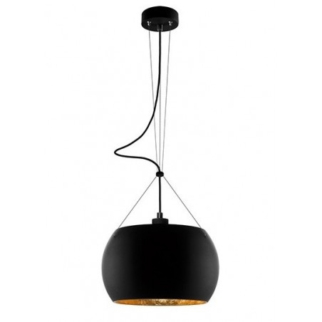 Momo Hanging Lamp - Black / Gold