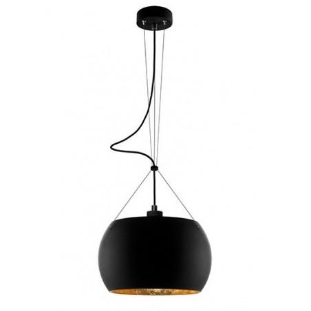Momo Hanging Lamp - Black / Gold