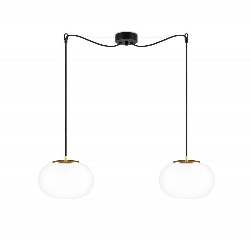 Sotto Luce Dosei Elementary 2/S Double Pendant Light