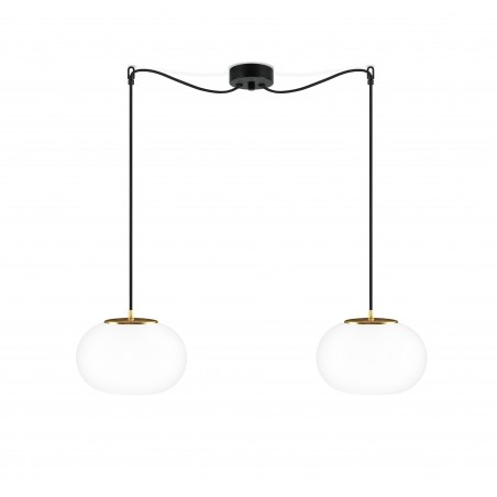 Sotto Luce Dosei Elementary 2/S Double Pendant Light