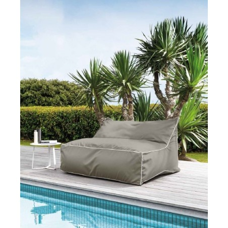 Talenti Lounge Sacco Outdoor Double Beanbag Sunbrella Coated