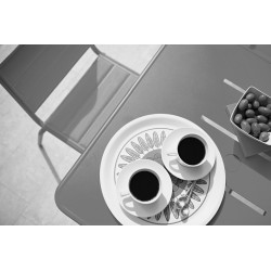 Skyline Design A600 square bistro table | Aluminium
