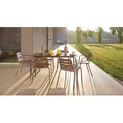 Skyline Design NC Rectangle Dining Table | Aluminium