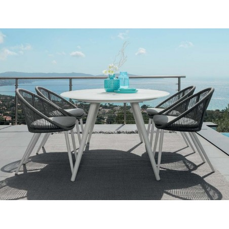 Talenti Rope Dining Set with 200 cm Dining Table