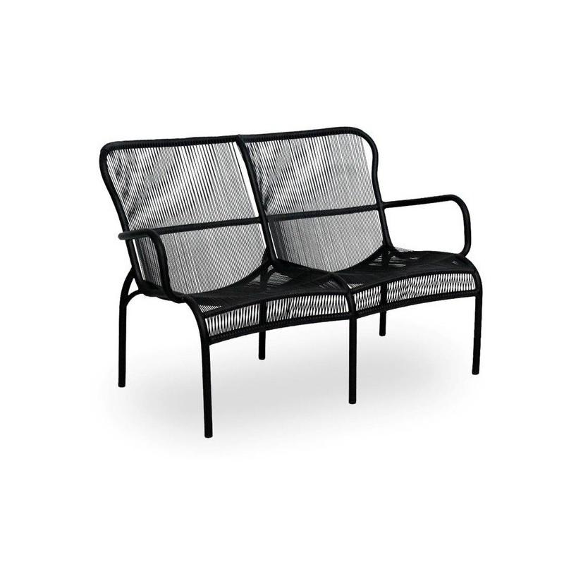 Vincent Sheppard Loop Outdoor Sofa - Black