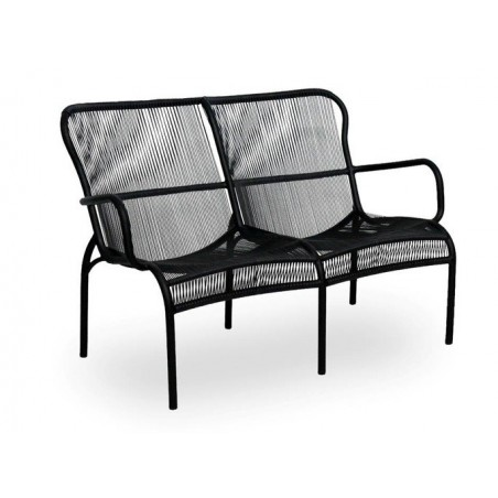 Vincent Sheppard Loop Outdoor Sofa - Black