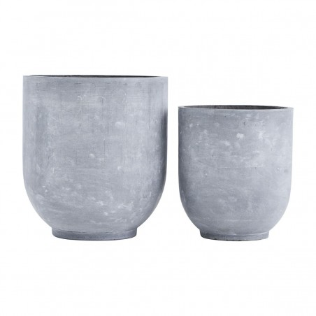 House Doctor Planter Gard|Set of 2 Planter Pots
