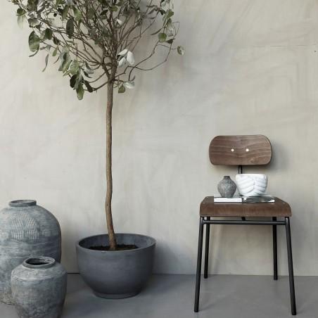 House Doctor Low Planter Gard|Set of 2 Low Planter Pots