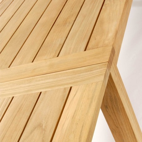 Positano Outdoor Dining Table in Teak 190cm