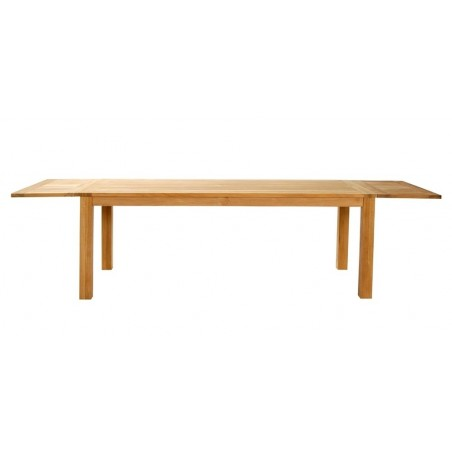 Positano Outdoor Dining Table  in Teak 190cm
