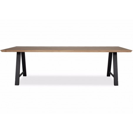 Vincent Sheppard Albert Dining Table Black A Frame Natural Oak 200 x 100