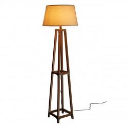 Natural Fir Wood Floor Lamp