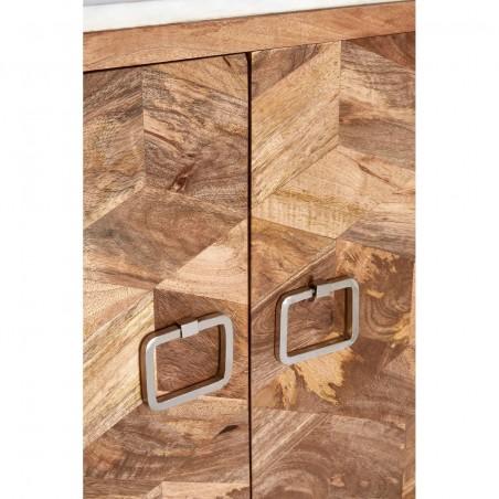 Nirav Geometric Design Cabinet