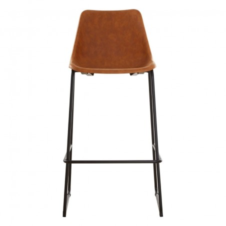 Dalston Bar Stool in Camel