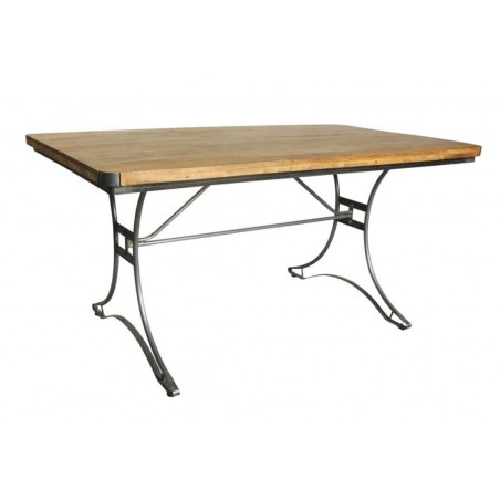 Industrial Rectangular Table