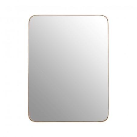 Gold Effect Frame Wall Mirror