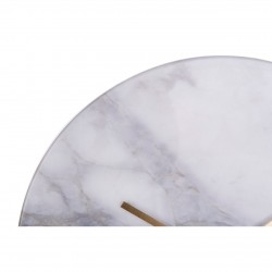 Lamonte Grey Marble Wall Clock
