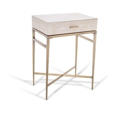 RV Astley Esta 1 Drawer Side Table