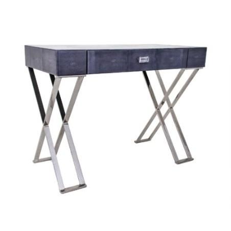 RV Astley Dark Grey Sienna Shagreen Dressing Table