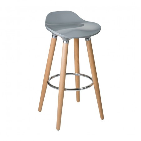 Larsson Beech Wood Kitchen Stool - 6 colours