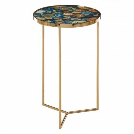 Vita Blue Agate Table